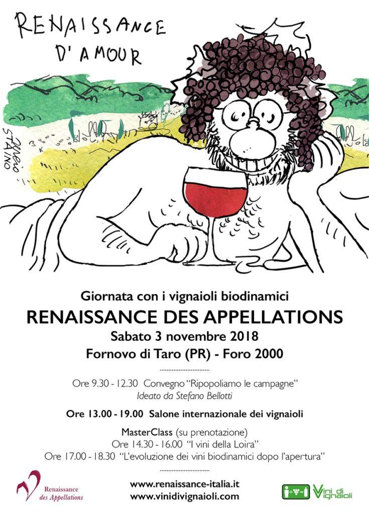 Locandina Renaissance 2018
